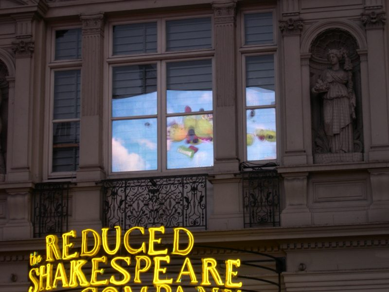 Reflection Above Theatre, London, by MDMikus (c) 2005