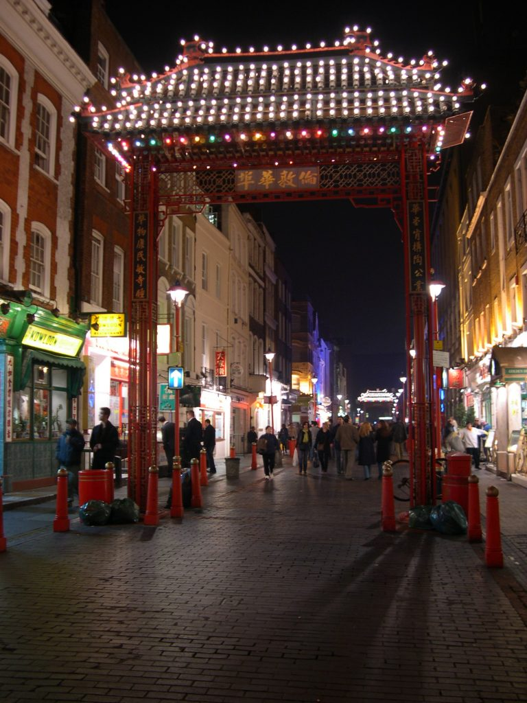 Entrance to Chinatown, London MDMikus Copyright 2005