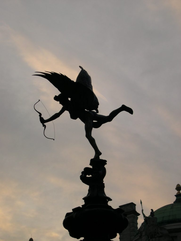Piccadilly, London, England by MDMikus, Copyright 2005