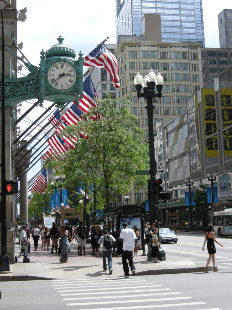 State Street, Chicago Copyright 2012 MDMikus